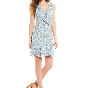 Gianni Bini XL ruffle floral dress New